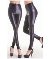レギンス 柄パンツ 9~10分丈 ファッションブラック-cc7748-2
