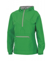 グリーン モノグラム プルオーバー レインジャケット cc85067-9
