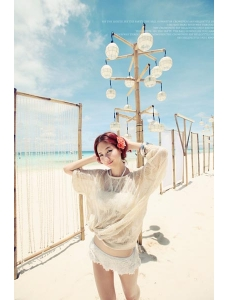 【即納】パレオ | ラッシュガード-tkm-yy3781-wh【カラー:オフホワイト】【サイズ:フリー】